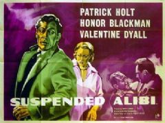 Suspended Alibi 1957 DVD - Honor Blackman / Patrick Holt